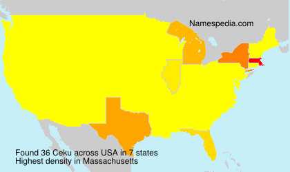 Surname Ceku in USA