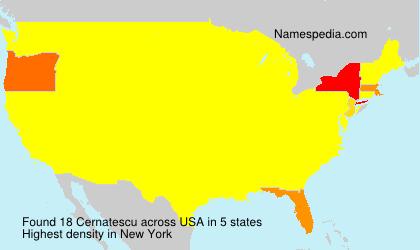 Cernatescu - USA