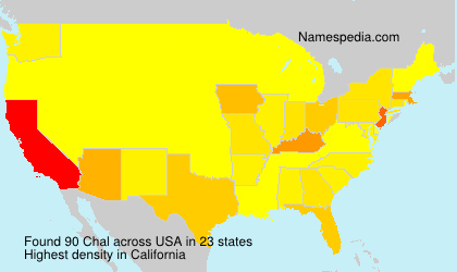 Surname Chal in USA