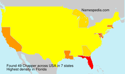 Surname Chapper in USA