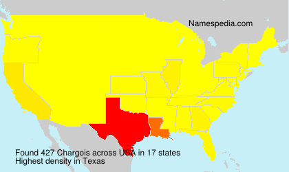 Surname Chargois in USA