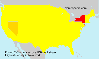 Surname Charima in USA