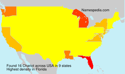 Surname Chariot in USA