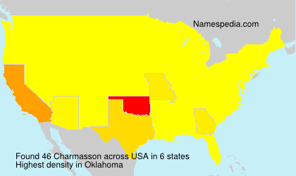 Surname Charmasson in USA