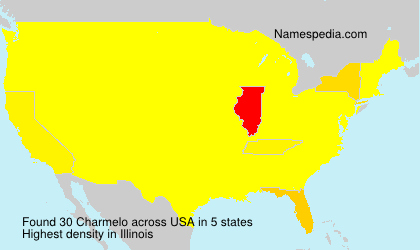Surname Charmelo in USA