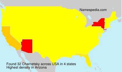 Surname Charnetsky in USA