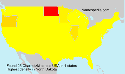 Surname Charnetzki in USA