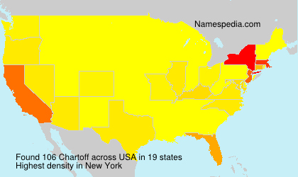 Familiennamen Chartoff - USA