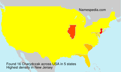 Surname Charydczak in USA