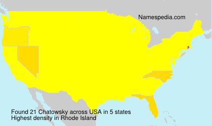 Chatowsky - USA