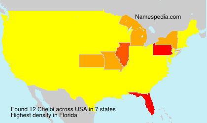 Surname Chelbi in USA