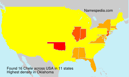 Surname Chele in USA