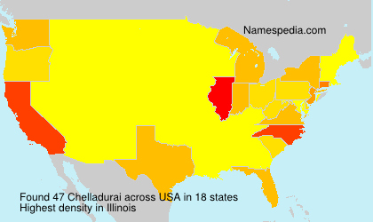 Surname Chelladurai in USA