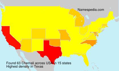 Surname Chemali in USA