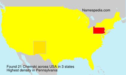 Chemski - USA