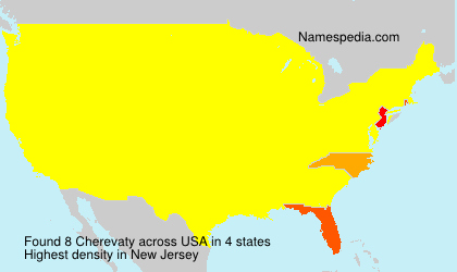 Surname Cherevaty in USA