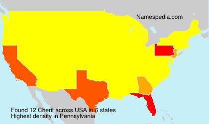 Surname Cherit in USA