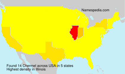 Surname Chermel in USA