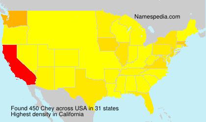 Chey - USA