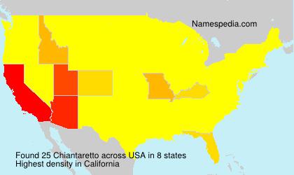 Chiantaretto - USA