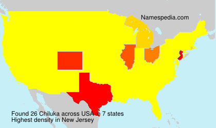 Surname Chiluka in USA
