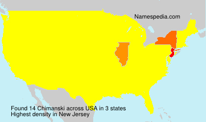 Surname Chimanski in USA