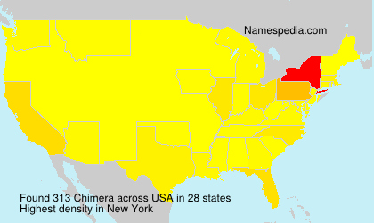 Surname Chimera in USA