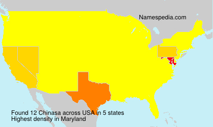 Surname Chinasa in USA