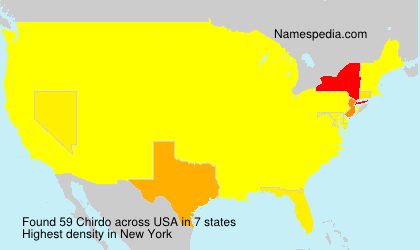 Surname Chirdo in USA