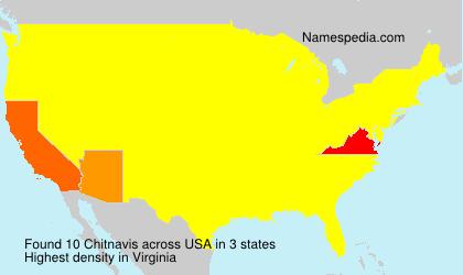 Surname Chitnavis in USA
