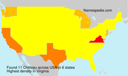 Surname Chittepu in USA