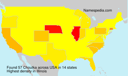 Surname Choutka in USA