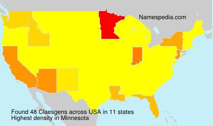 Claesgens - USA
