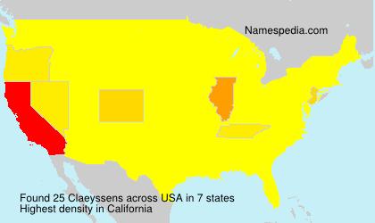 Claeyssens - USA