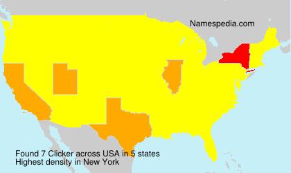 Surname Clicker in USA