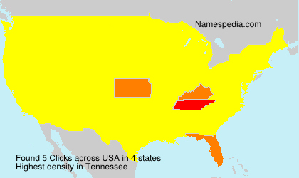 Surname Clicks in USA