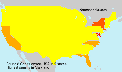 Surname Codas in USA