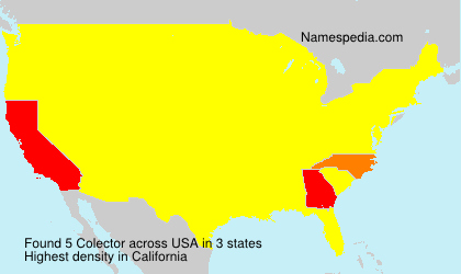 Surname Colector in USA