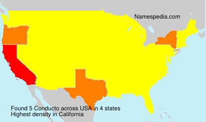 Surname Conducto in USA