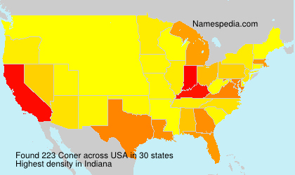 Surname Coner in USA