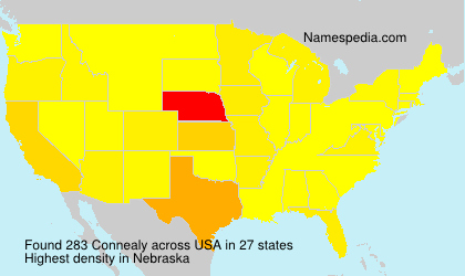 Surname Connealy in USA