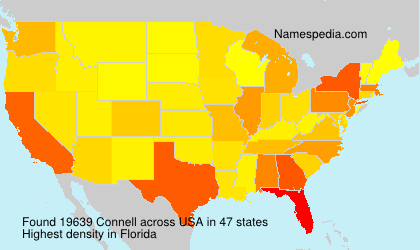 Surname Connell in USA