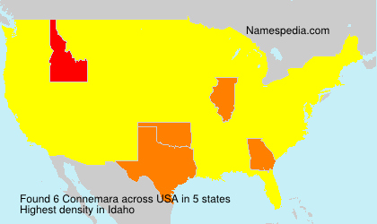 Surname Connemara in USA