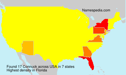 Surname Connuck in USA
