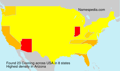 Surname Cooning in USA