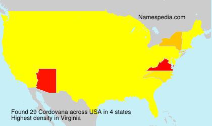 Cordovana - USA