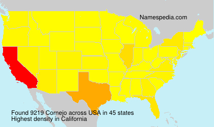 Surname Cornejo in USA