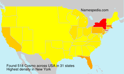 Surname Cosmo in USA