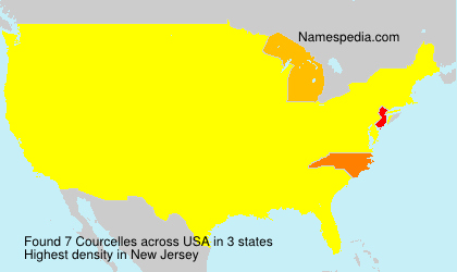 Surname Courcelles in USA