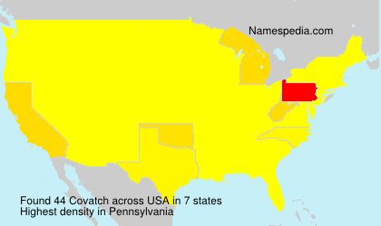 Surname Covatch in USA